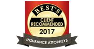 أوصت المحامين للتأمين عبر أيه أم (AM) أفضل المدراء في أحترافية التأمين .